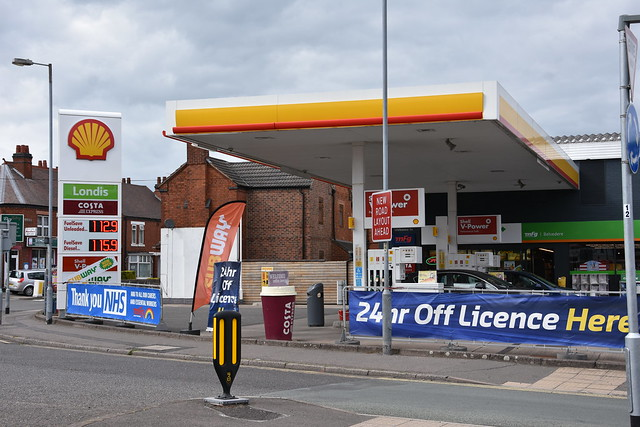 Shell, Burton on Trent Staffordshire.