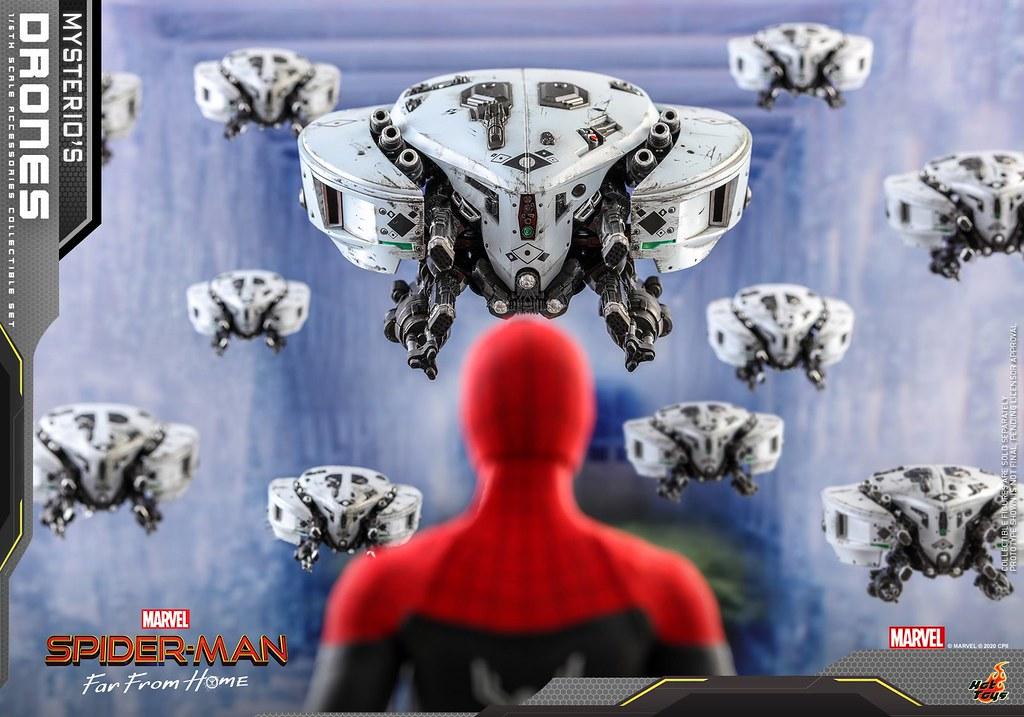 Hot Toys《蜘蛛人:離家日》神秘客的無人機 1/6 比例配件組