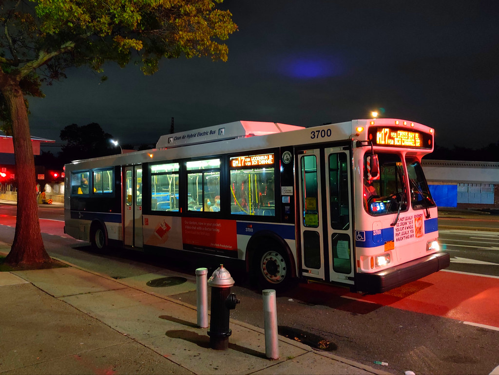 2006 Orion VII Hybrid 3700 on the QM17 at Woodhaven Boulevard & 61st Road