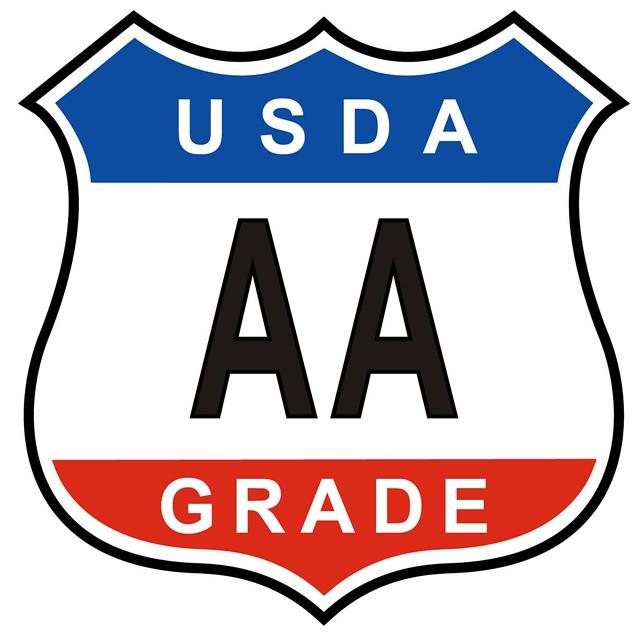 USDA AA Grade logo