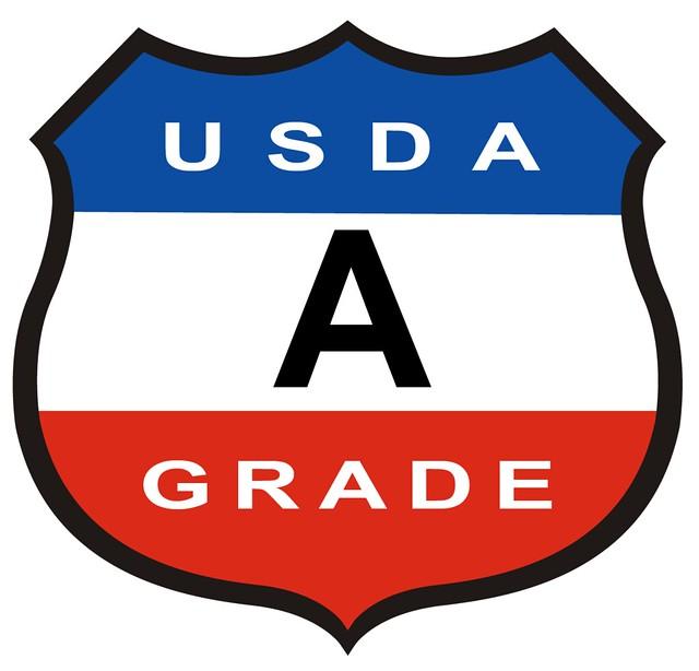 USDA A Grade logo
