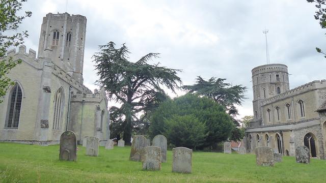 Twin Churches, Swaffham Prior, Cambridgeshire