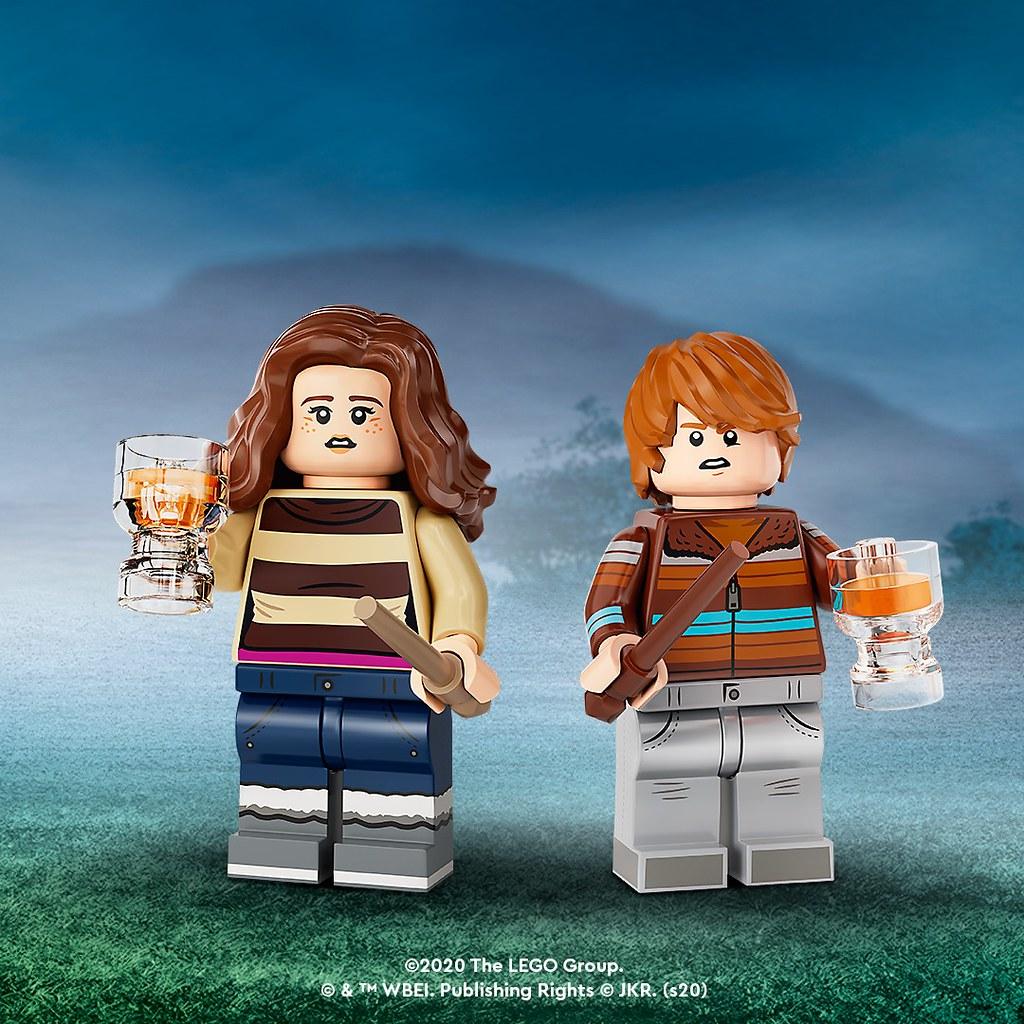LEGO 71028《哈利波特》人偶抽抽包第二彈!讓你的巫師陣容更加齊全~