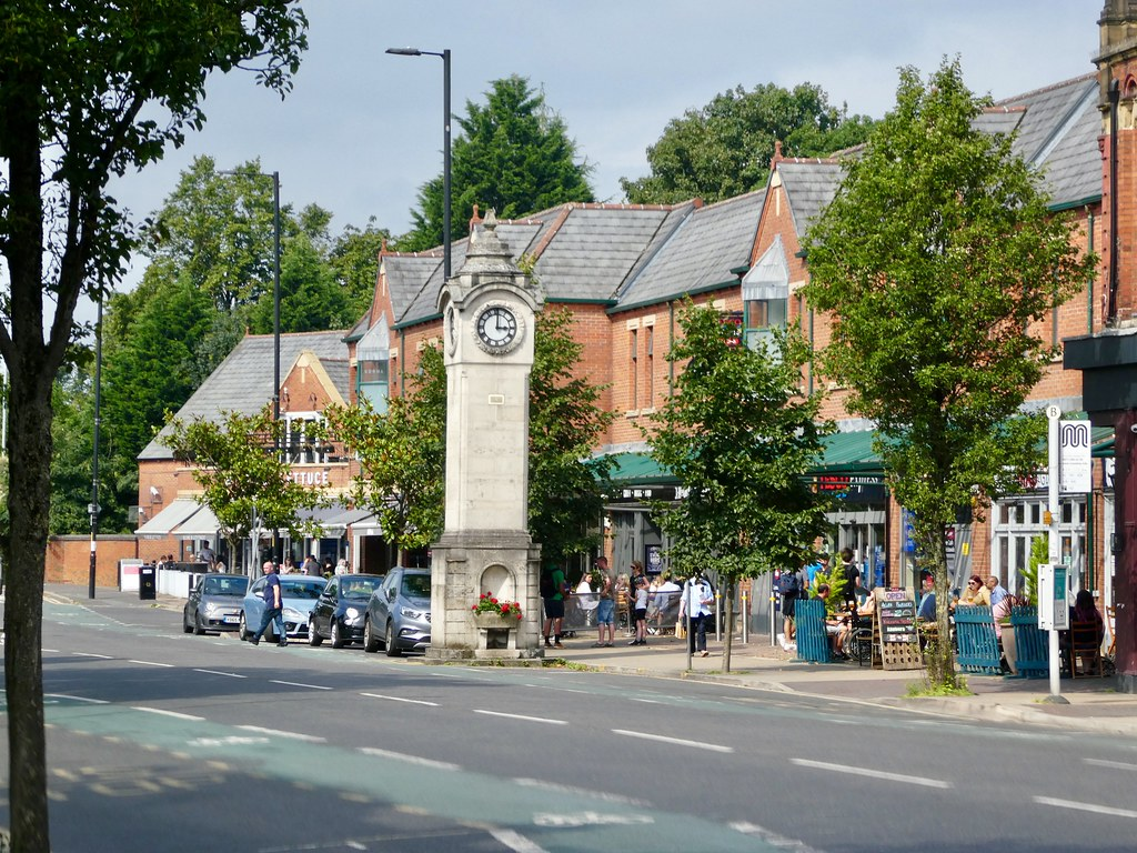 Didsbury Village clocktower