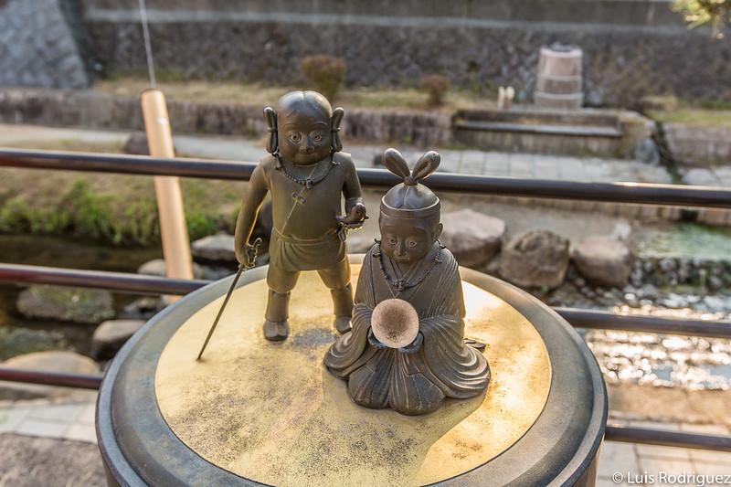 Mito de los tres tesoros sagrados (三種の神器)