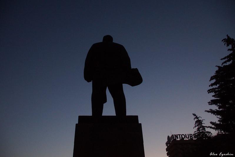 Владимир Ленин в Пятигорске