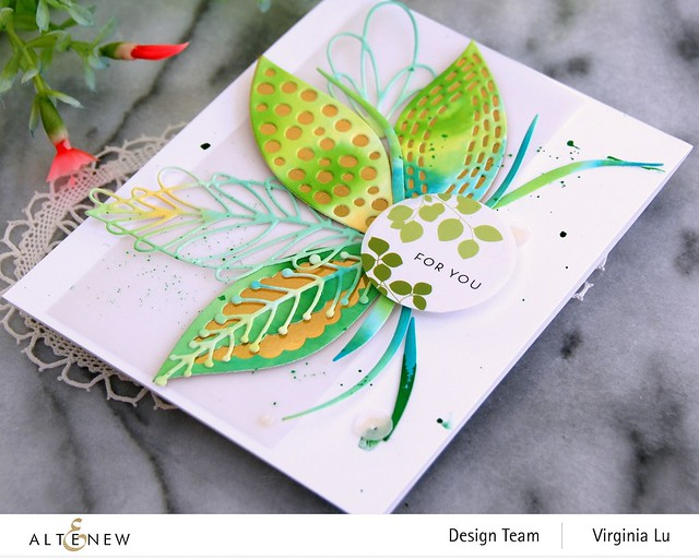 Altenew-Leaf Mix Die Set-Envelope Stickers-003