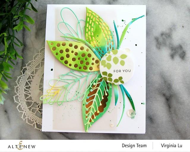 Altenew-Leaf Mix Die Set-Envelope Stickers-002