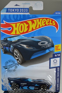 2020 Hot Wheels #167 Olympic Games Tokyo 2020 #9 Velocita | by Milton Fox