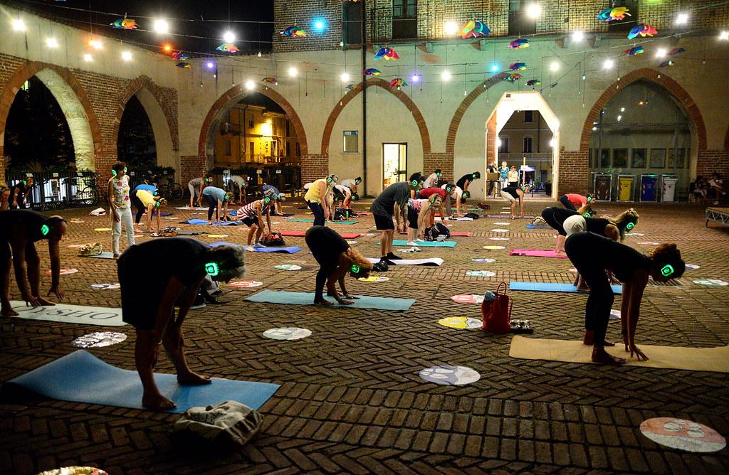 RESTATE IN CITTA' - SERATA SILEN YOGA  07 AGOSTO 2020 Foto A. Artusa