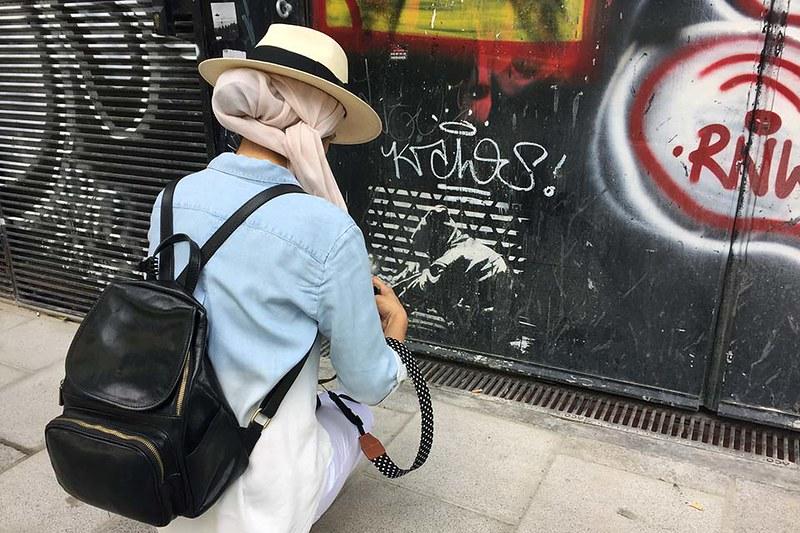 street art tour Lavapies, Madrid