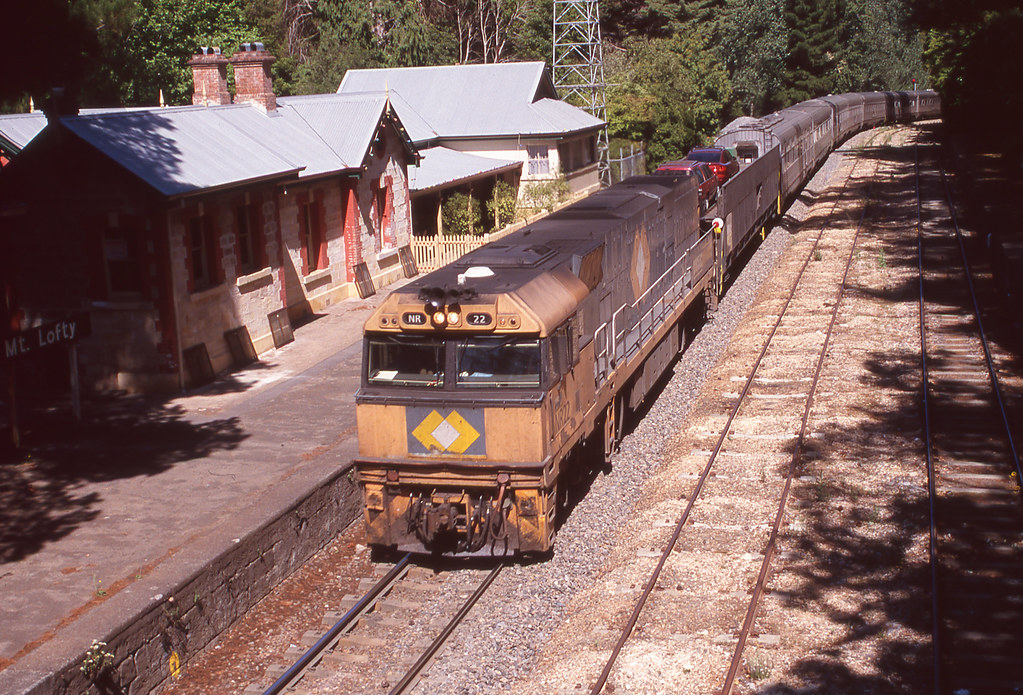 Indian Pacific via Melbourne by David Arnold