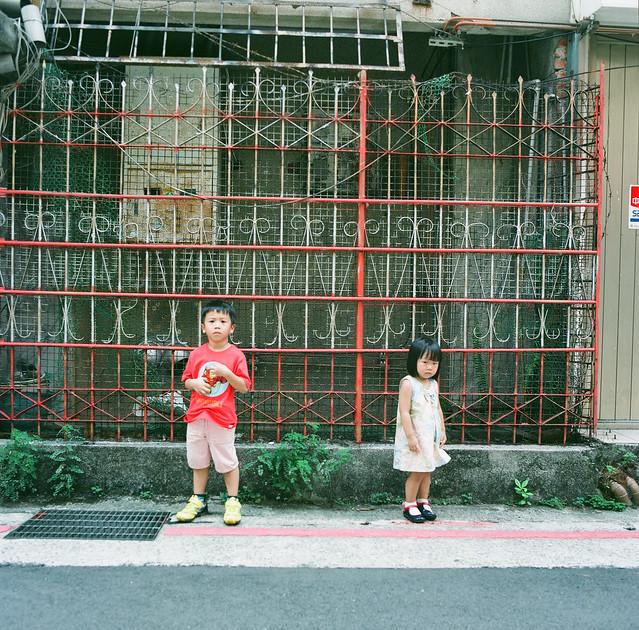 A-Deng, 5 years ; A-Kuann, 2 years 11 months