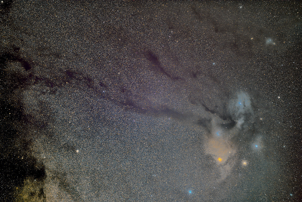 Antares and Rho Ophiuchi Region
