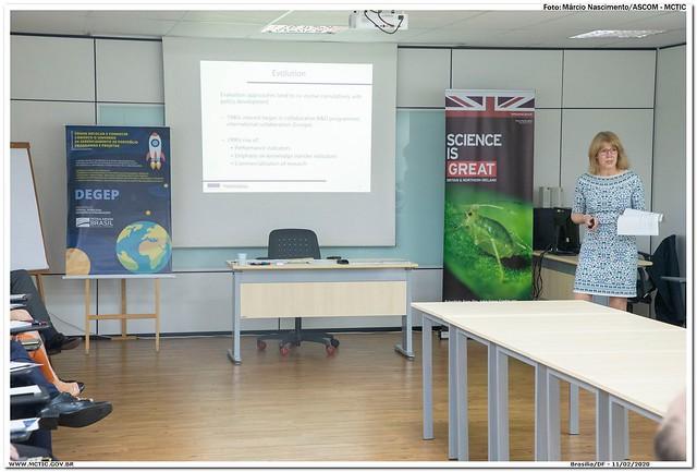 Workshop Science Evaluation Impact - 1º dia