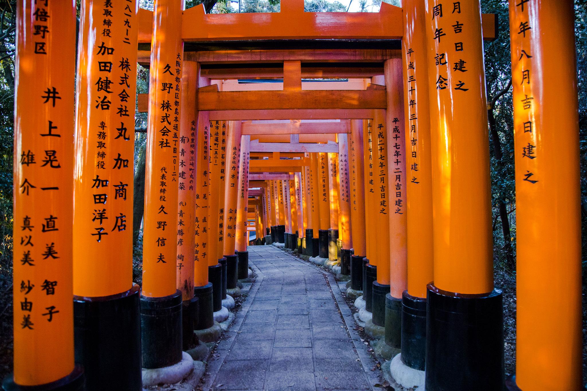 Fushimi Inari Shrine Kyoto Tokyo Japan Tuyen Chau Photography