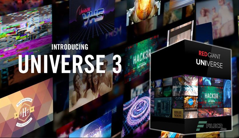 Working with Red Giant Universe 3.3.0 fulll