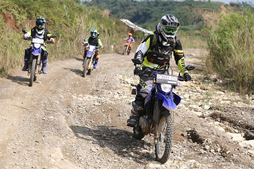 Fun Adventure Touring Merdeka  Yamaha di Hambalang Bogor