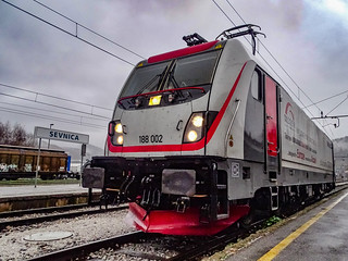 BTK 188 002, Sevnica | by Trainspotter Slovenia