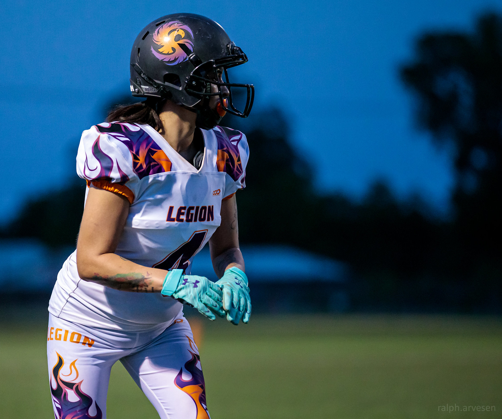 IWFA Womens Football | Texas Review | Ralph Arvesen