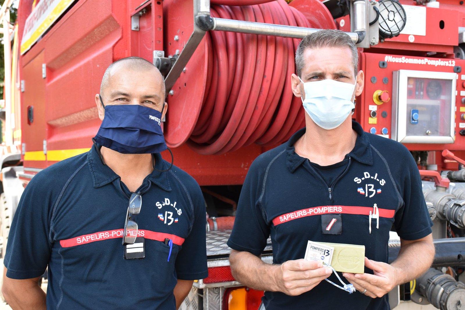 Des savons artisanaux à disposition des Pompiers13