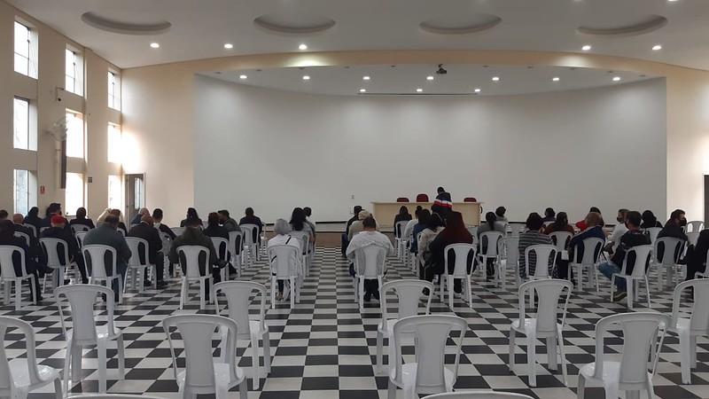 Teste rápido de COVID para o Clero e funcionários da Diocese de Guarulhos