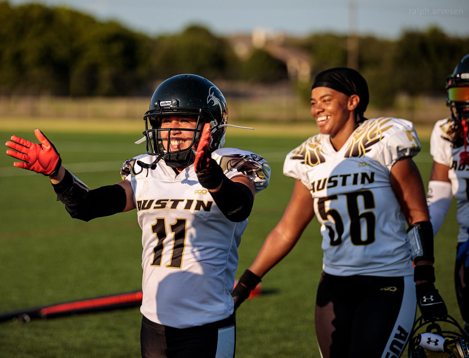 IWFA Womens Football | Texas Review | Ralph Arvesen