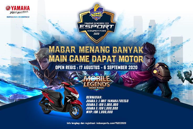 Yamaha Generasi 125 E-Sport Competition (YGEC) 2020