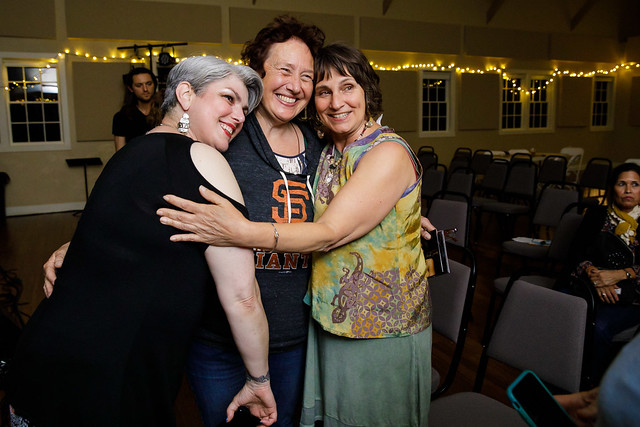 Heather Ward, BB Baart, Susan LeMaster at 2019 Jazz Port Townsend