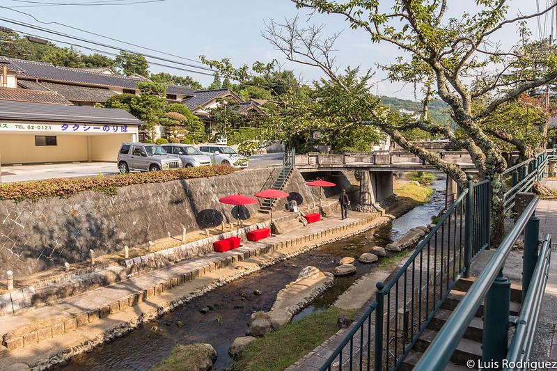 Río Tamayu a su paso por Tamatsukuri Onsen