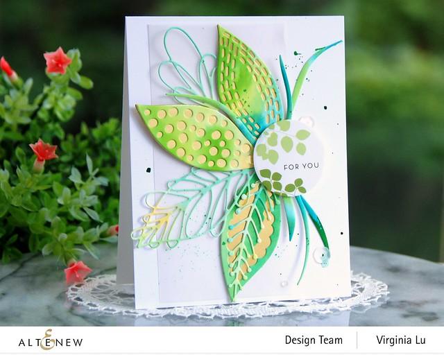 Altenew-Leaf Mix Die Set-Envelope Stickers-001