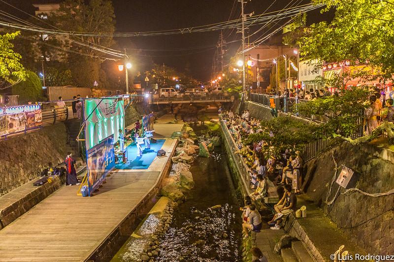 Escenario del festival de verano