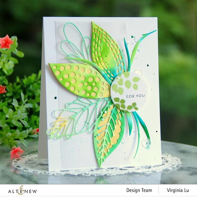 Altenew-Leaf Mix Die Set-Envelope Stickers