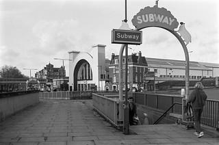 Subway, Shepherds Bush, Roundabout, Hammersmith & Fulham, 1988 88-1a-22-positive_2400