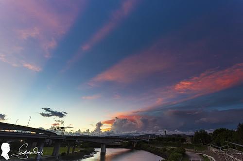 霞光 taipei taiwan canon eos6d2 ef1740 sunrise crepuscular ray sky cloud