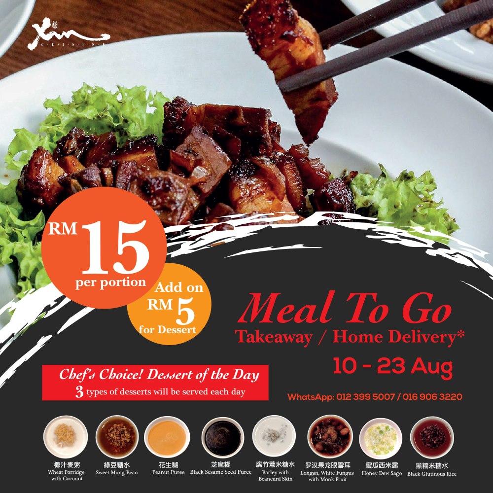 xin cuisine promo