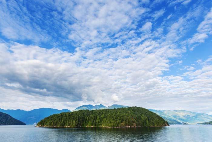 Cascadia region in the Pacific Northwest