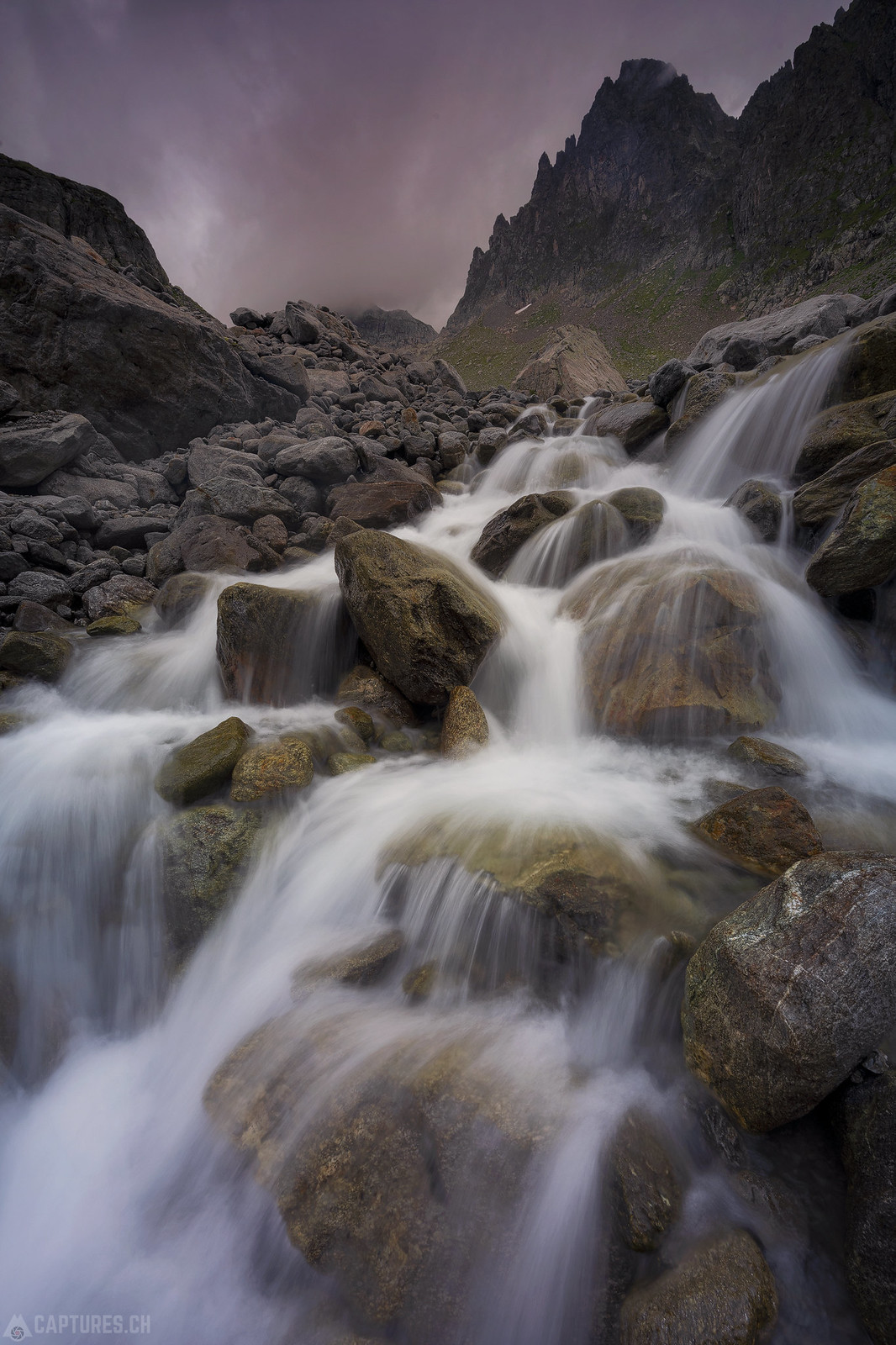 Waterflow - Sustenpass