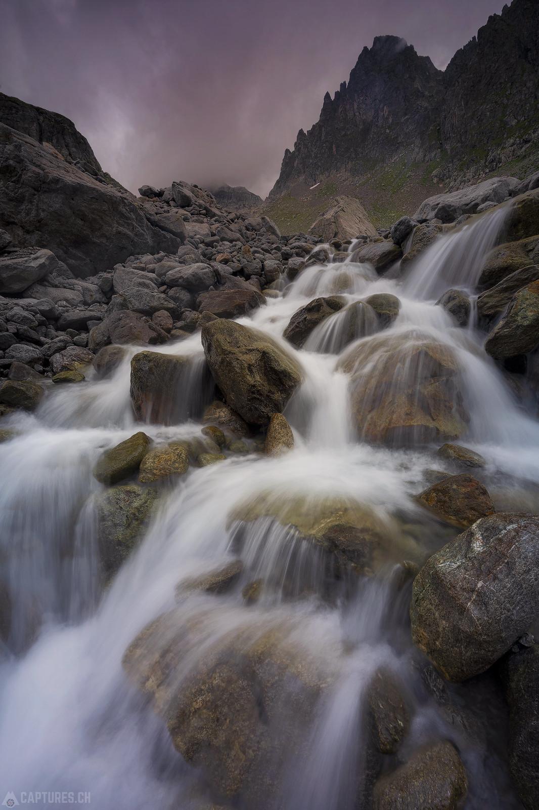 Waterflow - Sustenpass