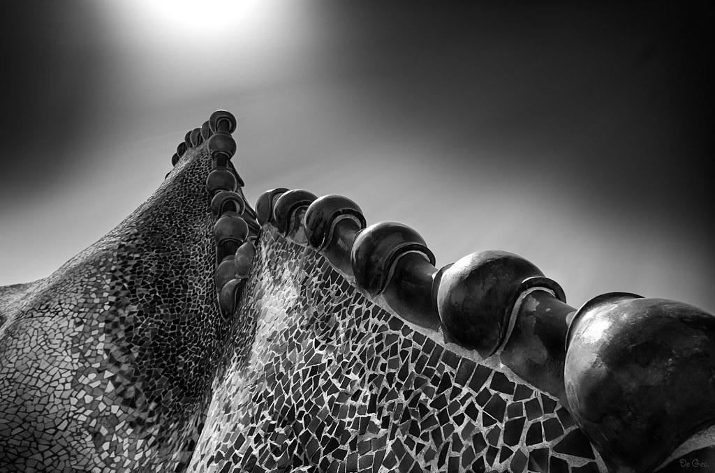El dragon Khan de Gaudí.