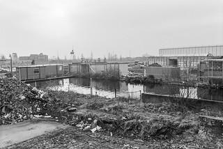 Kensal Green Basin, Grand Union Canal, Paddington Branch, North Kensington, Kensington & Chelsea, 1988 88-1f-35-positive_2400