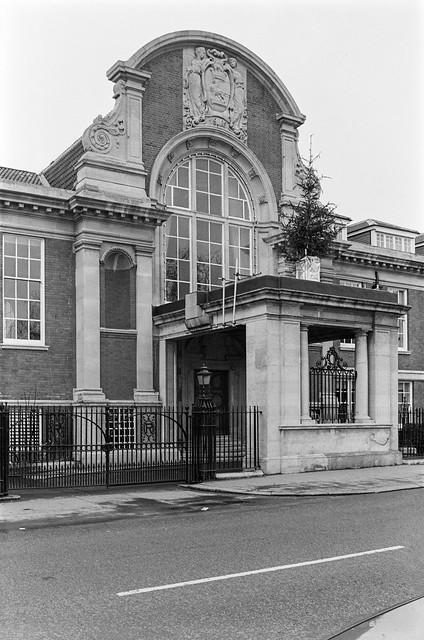 Ladbroke Hall, Clement-Talbot Motor Works, Barlby Rd, North Kensington, Kensington & Chelsea, 1988 88-1f-52-positive_2400
