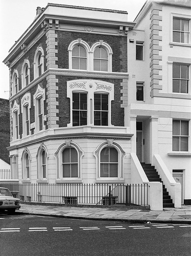 Houses, Blenheim Crescent, Clarendon Rd, Notting Hill, Kensington & Chelsea, 1988 88-1e-61-positive_2400