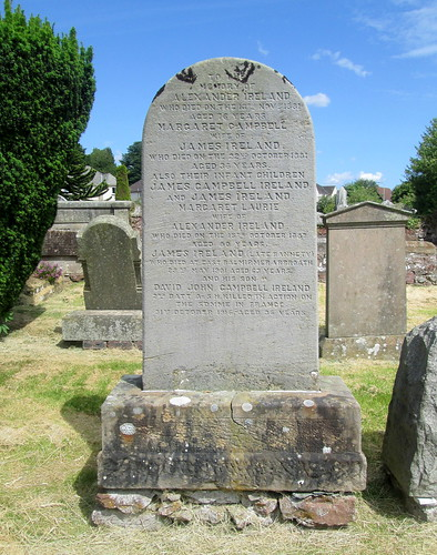 War Inscription, Strathmiglo Graveyard