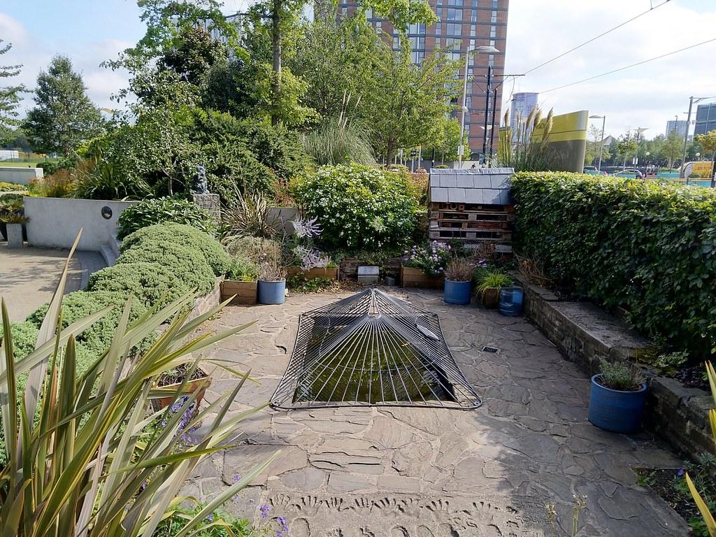 Blue Peter Garden, MediaCityUK
