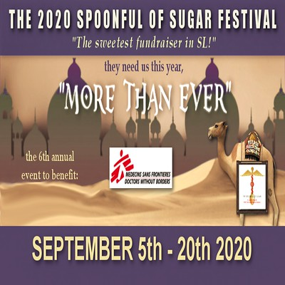 2020 Spoonful Of Sugar Festival to Benefit MSF/Doctors Without Borders!