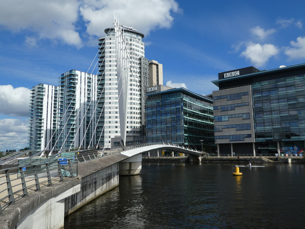 MediaCityUK Footbridge