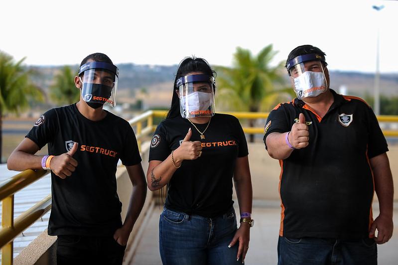 16/08/20 - Youtubers e fãs da Copa Truck - Fotos: Duda Bairros