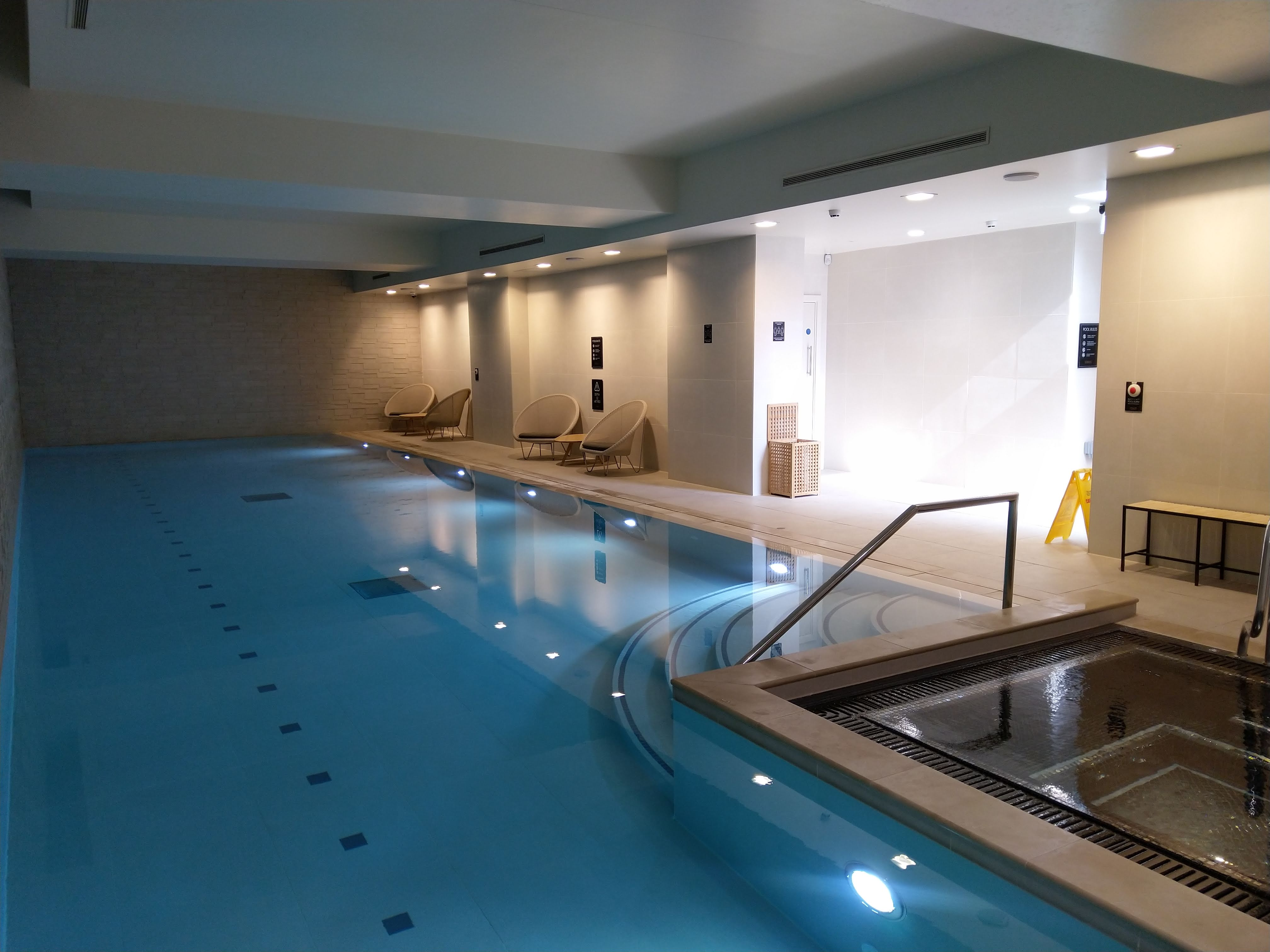 Swimming pool, CitySuites Manchester