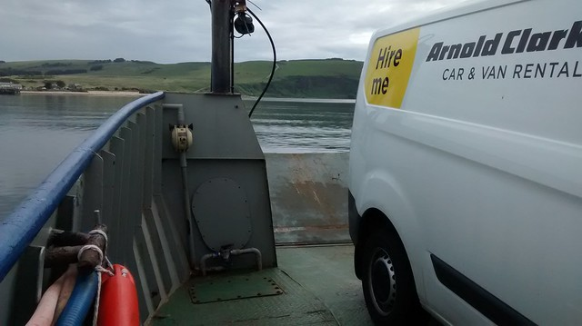 Aboard the Cromarty ferry